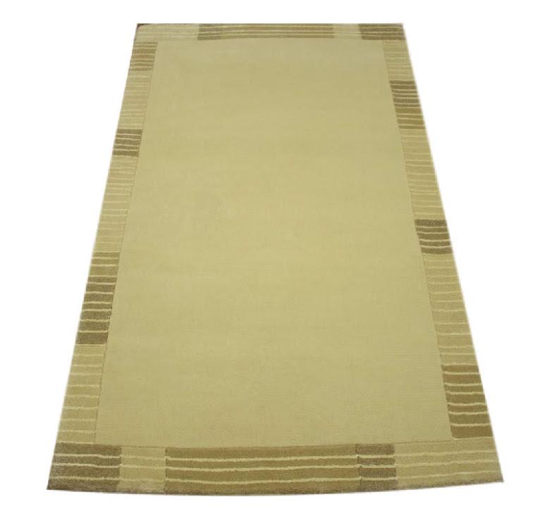 dywan nepal 100% wełna 90x160cm beżowy ekskluzywny