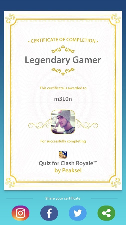 Quiz for Clash Royale™- screenshot