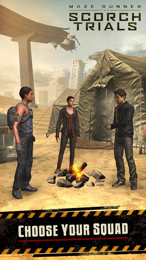 Maze Runner: The Scorch Trials- screenshot