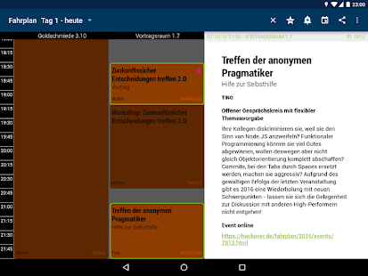 Hackover 2016 Programm- screenshot thumbnail