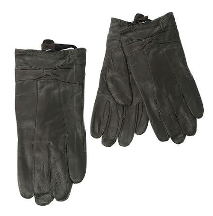 Handskar i läder (dam), svarta