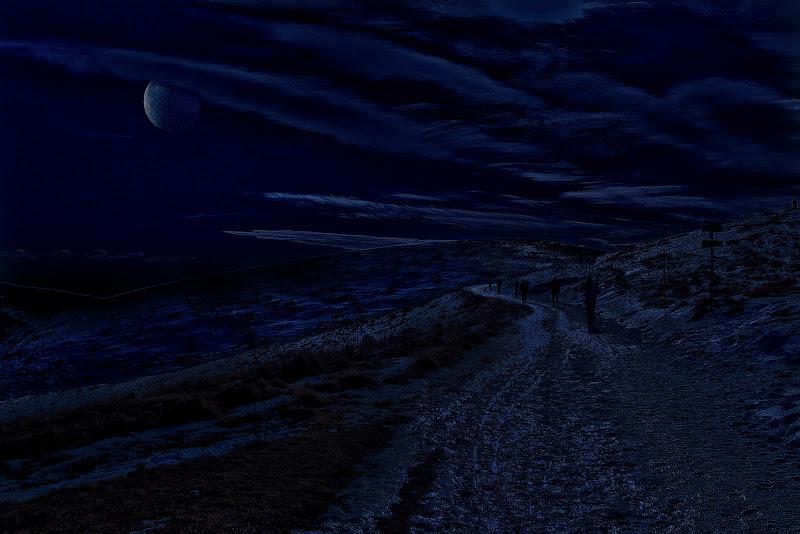 Lessinia al chiarore di luna di Scaletta