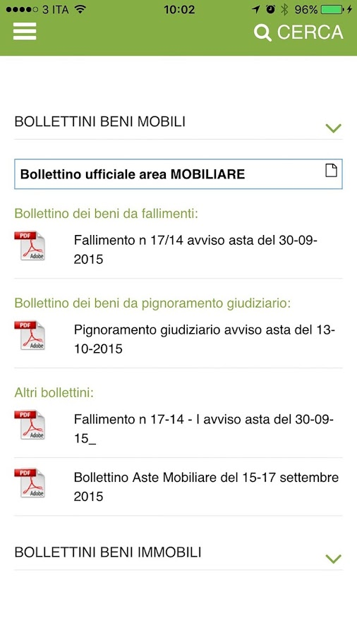 IVG Belluno- screenshot