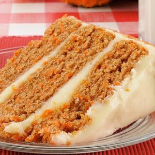 Grandma's Best Dairy-Free Carrot Cake.
