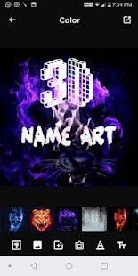 3D Smoke Effect Name Art Maker, Focus n Filter