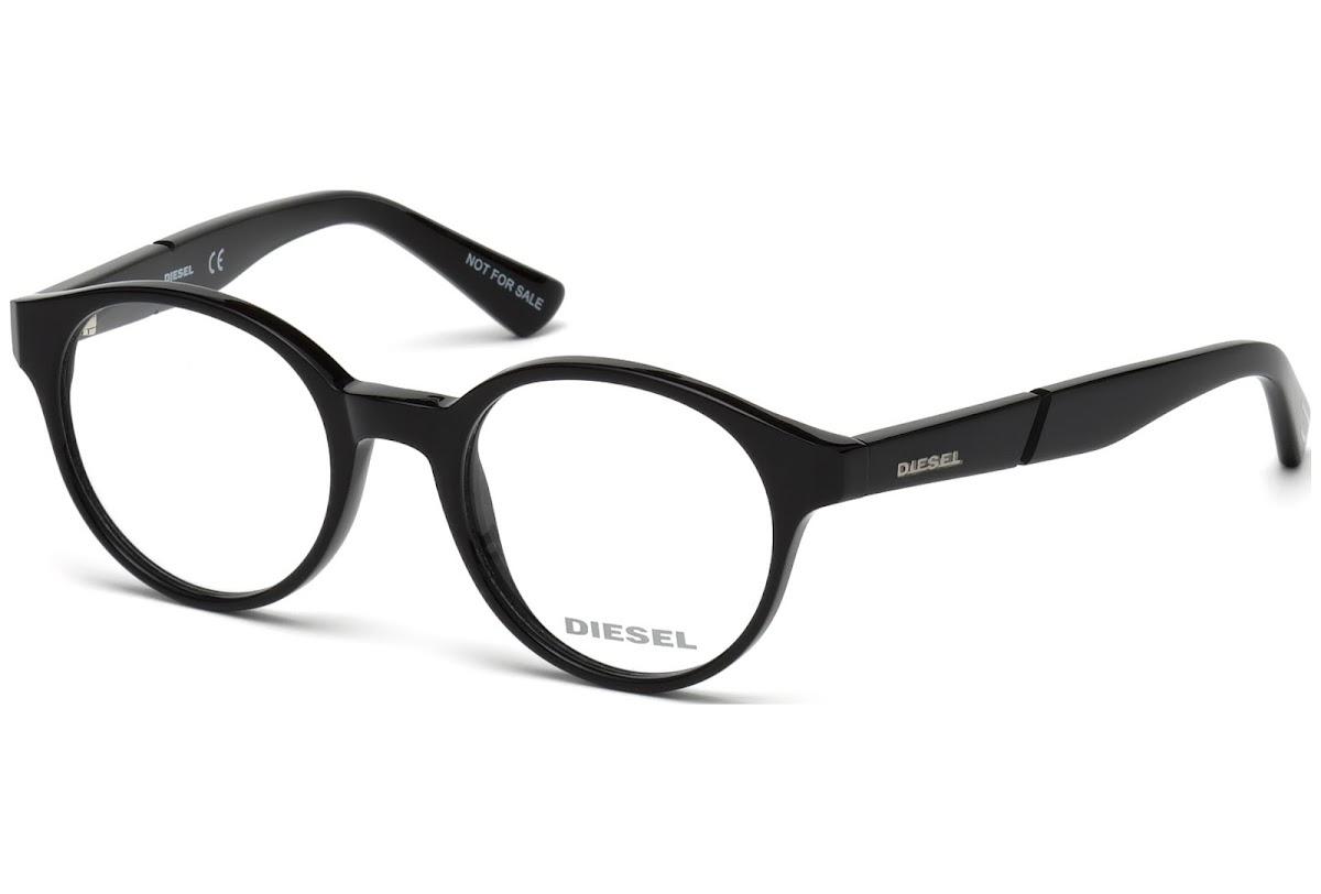 9fd98d74bf3 Buy Diesel DL5244 C45 001 (shiny black   ) Frames