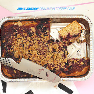 Jumbleberry Cinnamon Coffee Cake