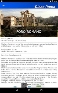 Dicas Rome Travel Guide- screenshot thumbnail