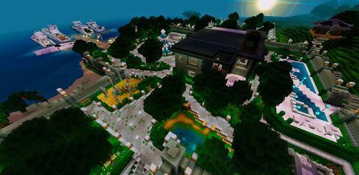 Ultra Lux Mansion Minecraft Map for PC