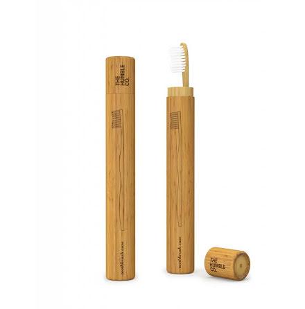 Tandborstfodral bambu