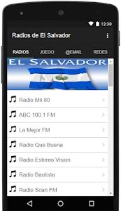 Radios de El Salvador Gratis screenshot 0