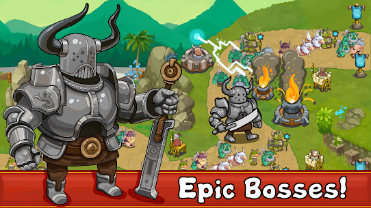 Tower Defense Realm King Mod Apk 3.1.7 (Unlimited Gold Coins) 2
