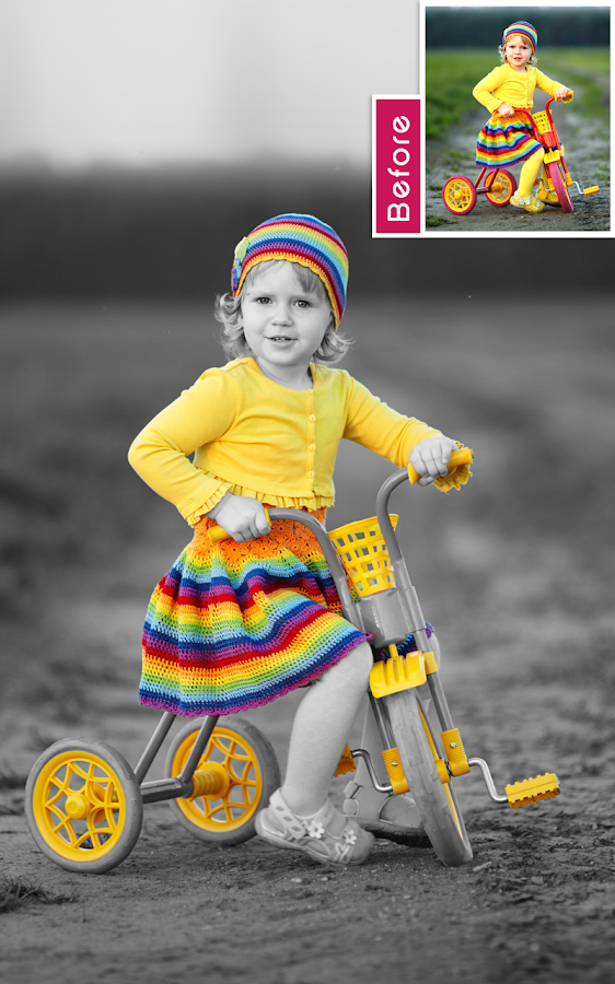 Color Splash Photo – Screenshot