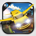Flying Limo Taxi Simulator icon
