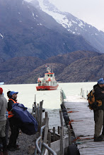 Photo: The boat that will take us to Grey Glacier