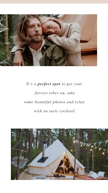 Forest Vibes - Instagram Story Template
