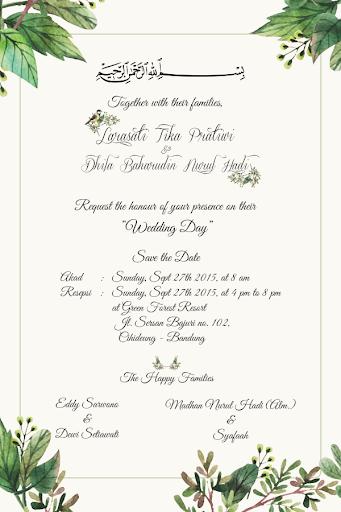 Larasati Dhila Wedding