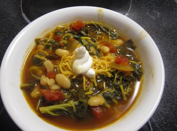 Kale And Bean Chili! Recipe