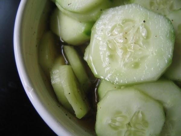 Mum's Cucumber & Vinegar Pickles Recipe