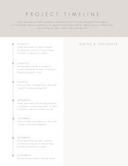 Light Project Timeline - Vertical Timeline item