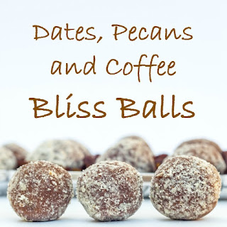 Dates, Pecans and Coffee Bliss Balls