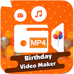 Birthday video maker with song - Live Video Maker icon