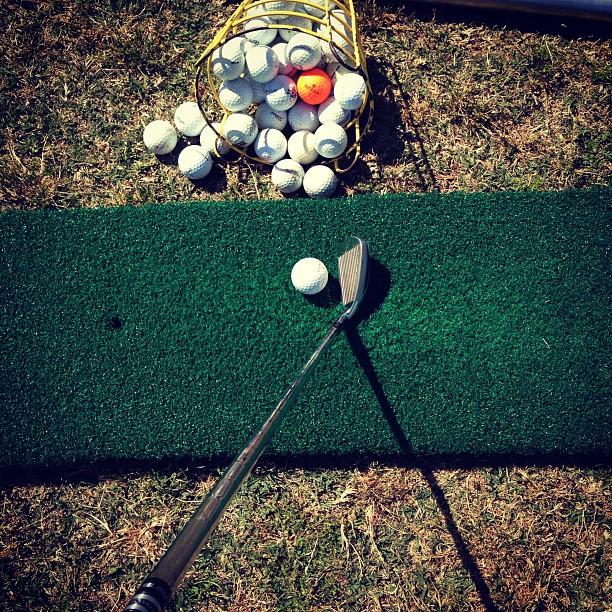 practicing by Scott Murphy - Sports & Fitness Golf ( golf )