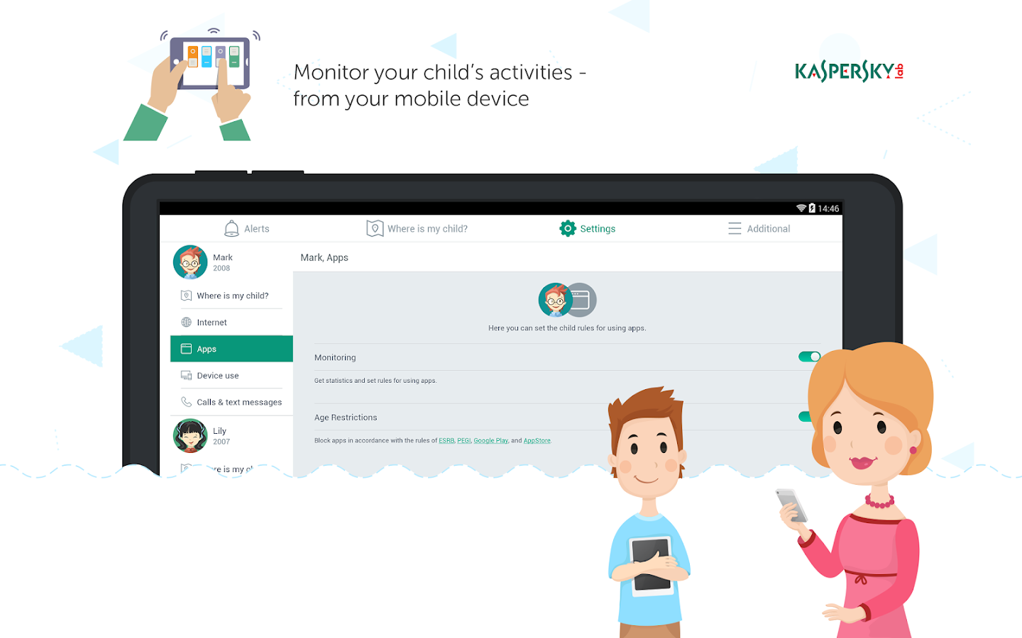 Kaspersky SafeKids – Kids mode- screenshot
