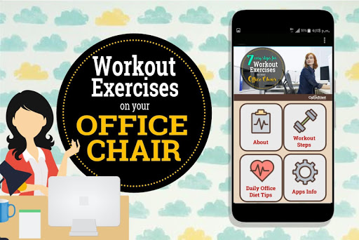 Easy Workout Exercises on your Office Chair 1.3 screenshots 1