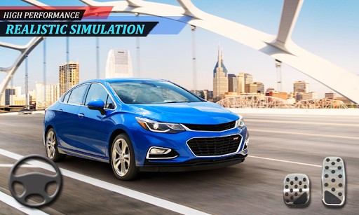 Cars Drifting games free 3D driving Cruze 1.7 screenshots 2