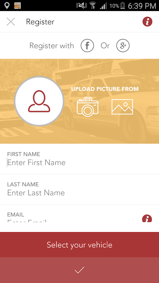 Taxi Anytime- Driver taxis- screenshot