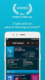 CMC CFD Trading - náhled