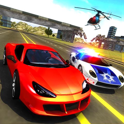 Police Car vs Gangster Escape (game)