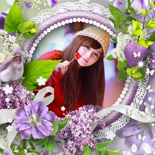 Flower Photo Frame 2016