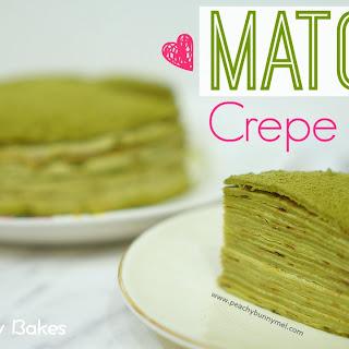 [Lady M] Matcha Mille Crepes Cake
