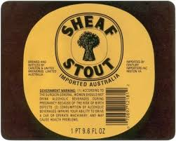 Logo of Carlton United Breweries Sheaf Stout