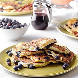 Blueberry-Ricotta Pancakes