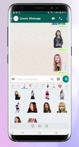 Stickers for whatsapp kpop - WAStickerApps Pro 1.3 screenshots 1