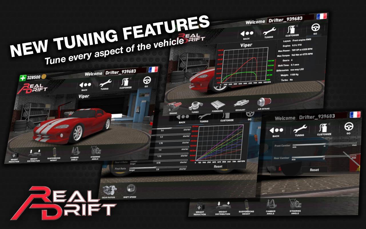 Real Drift Car Racing Free - screenshot