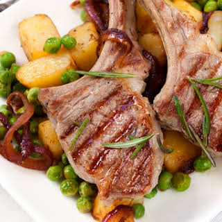 Greek Lamb Chop Marinade.