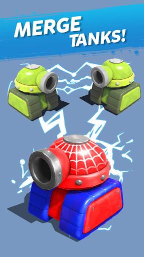 Télécharger Merge Tanks: Funny Spider Tank Awesome Merger mod apk screenshots 5