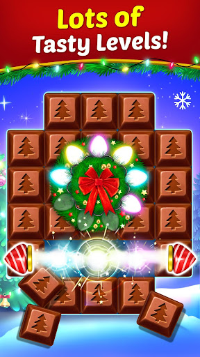 Christmas Cookie - Santa Claus's Match 3 Adventure modavailable screenshots 3