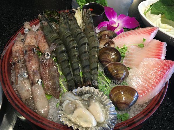 台北˙天母超熱門火鍋店天鍋宴-海鮮超澎派