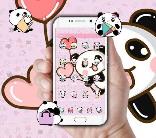 Download Pink Cartoon Cute Panda Wallpaper Free For Android Pink Cartoon Cute Panda Wallpaper Apk Download Steprimo Com