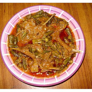 Bhindi Gosht (Okra and Lamb)