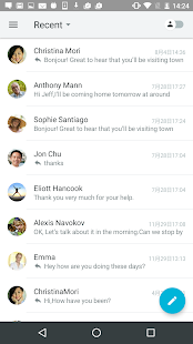 Swingmail Free Email Messenger- screenshot thumbnail