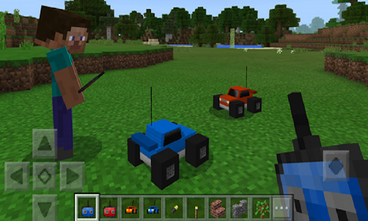 Mod Radio Cars (RC Cars) for MCPE - náhled