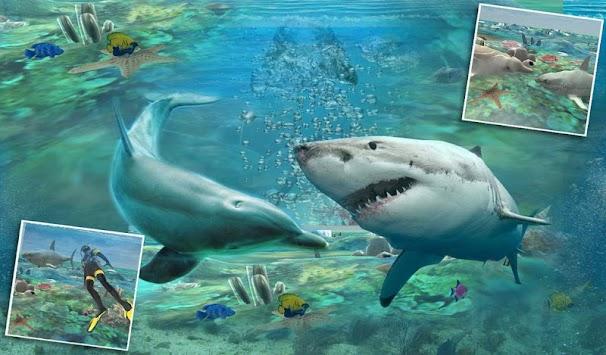 Spearfishing shark attack