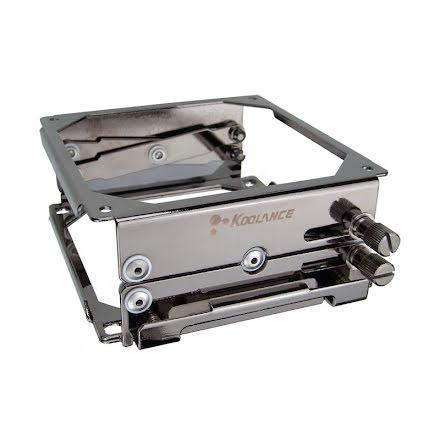 Koolance BKT-HX001, justerbar brakett for radiator og vifte (120mm)