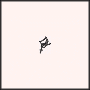 十字架のブレスレット